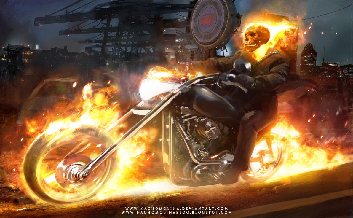 Good Wallpaper Horse Ghost Rider - ghost_rider_by_nachomolina-d32ew9j  2018_754815.jpg